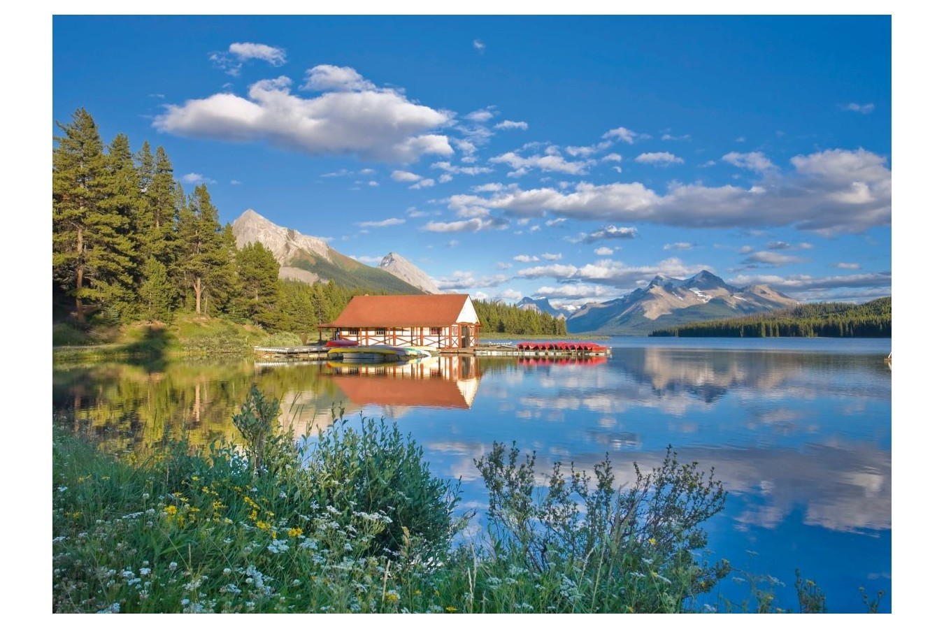 Puzzle Schmidt - A Weekend at the Lake, 1.000 piese (58334) imagine