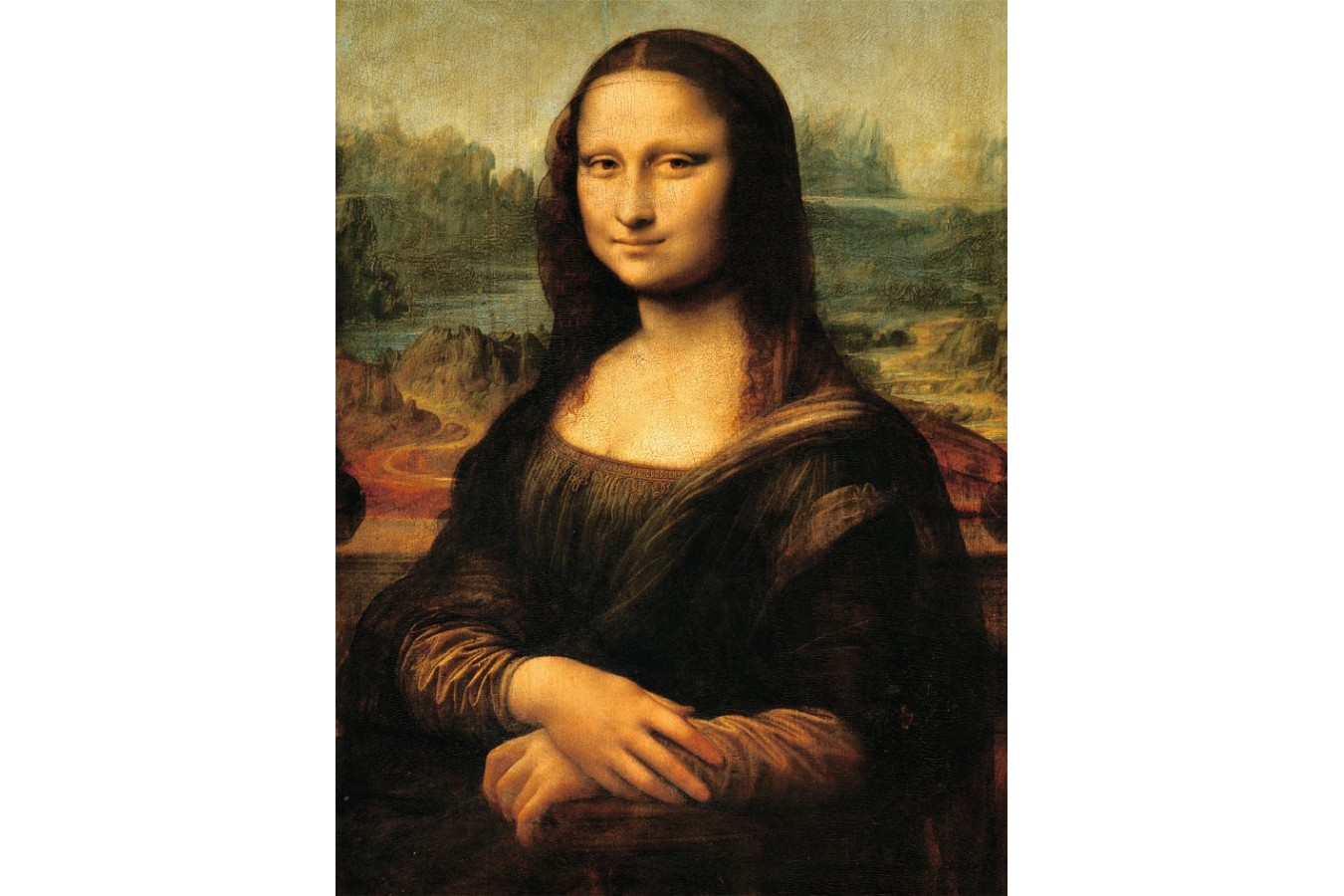 Puzzle Ravensburger - Leonadro Da Vinci, Mona Lisa, 1.000 piese (15296) imagine