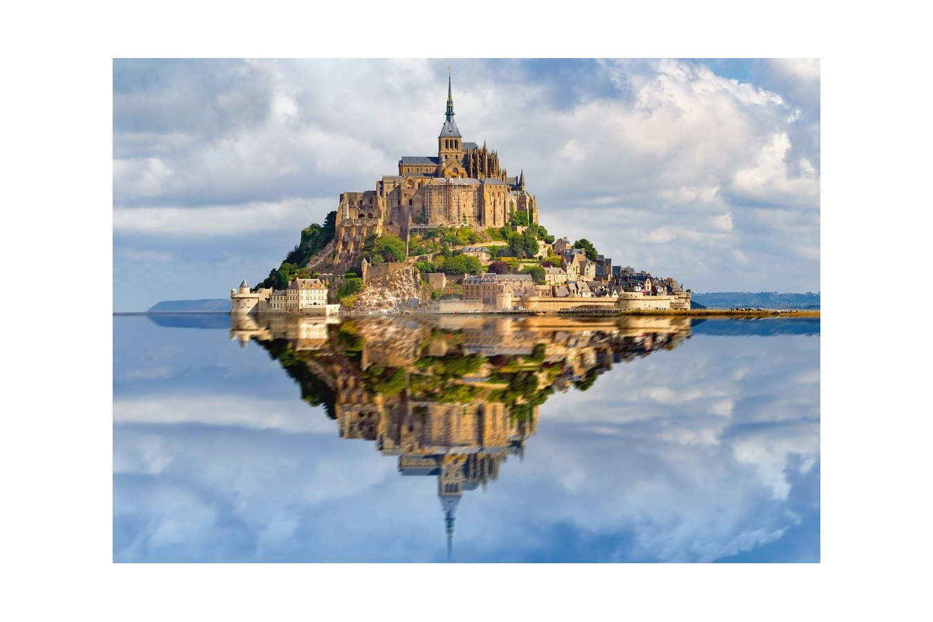 Puzzle Ravensburger - Muntii Saint Michel, 1.000 piese (19647) imagine