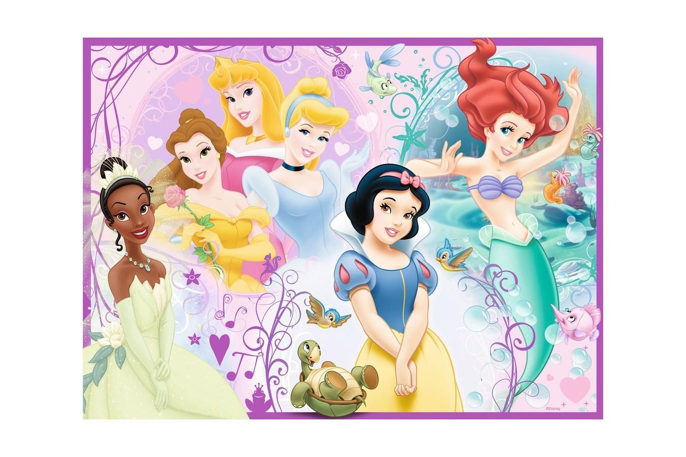 Puzzle Ravensburger - Printesele Disney, 100 piese (10857) imagine