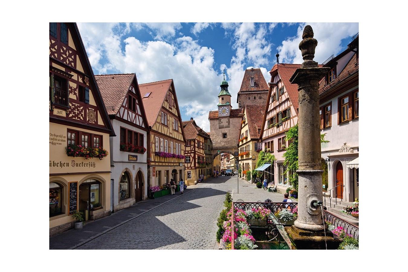 Puzzle Ravensburger - Rothenburg, 500 piese (13607) imagine