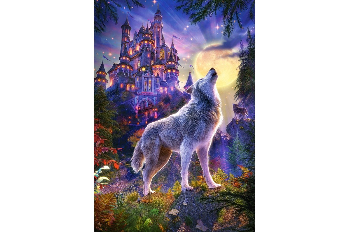 Puzzle Castorland - Wolf Castle, 1.000 piese (104178)