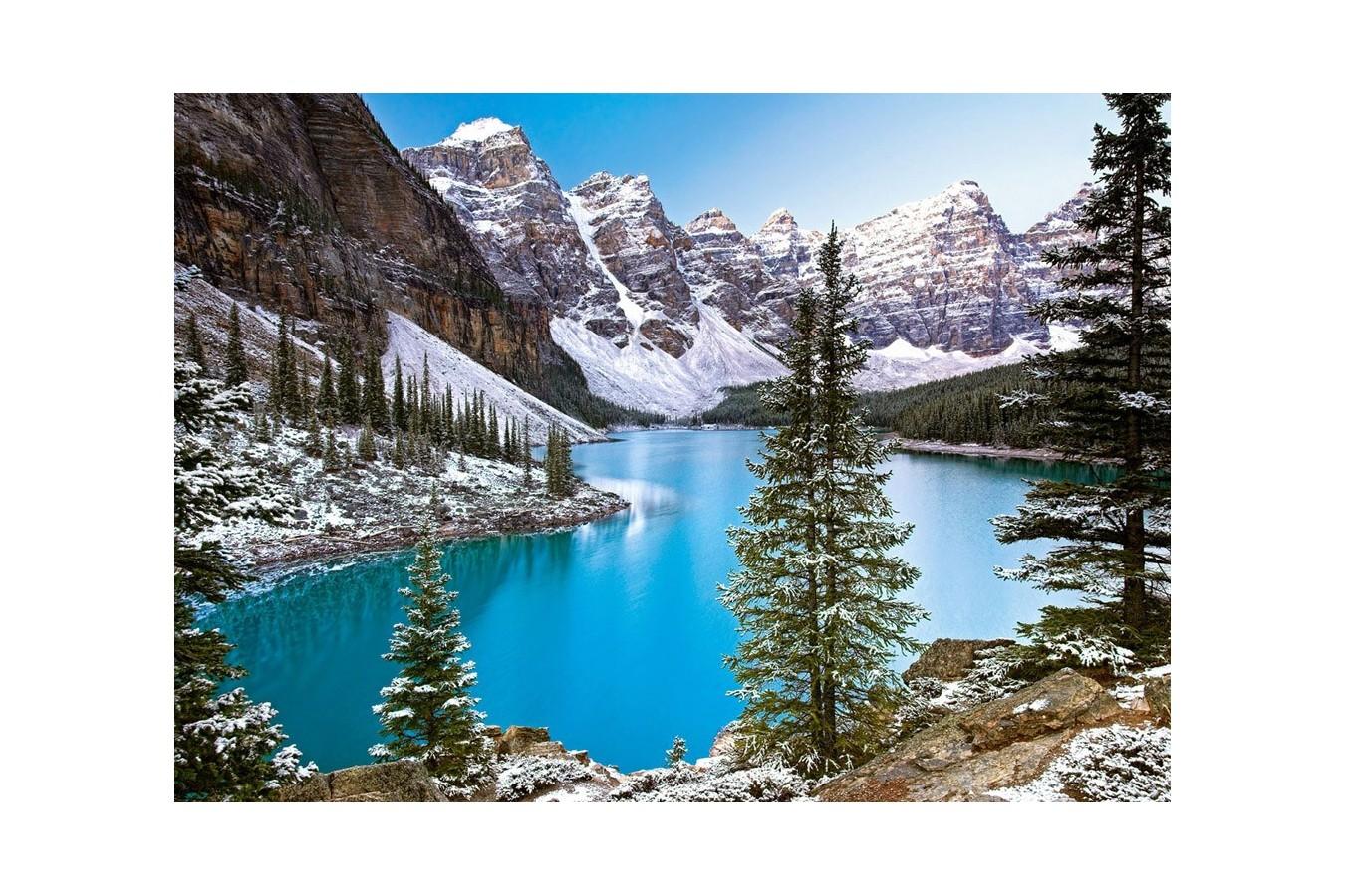 Puzzle Castorland - Jewel of the Rockies, 1000 piese imagine