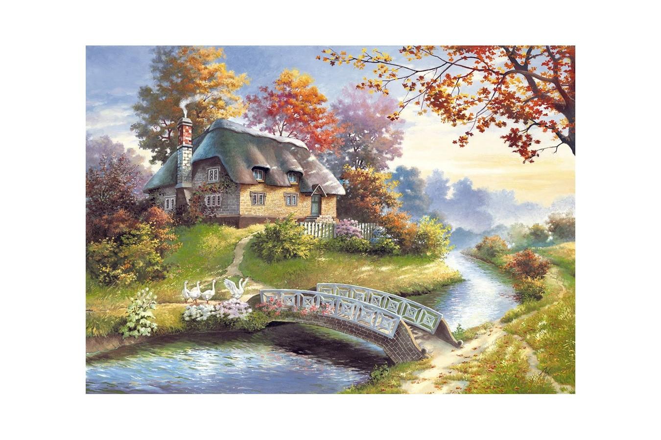 Puzzle Castorland - Cottage, 1500 piese imagine
