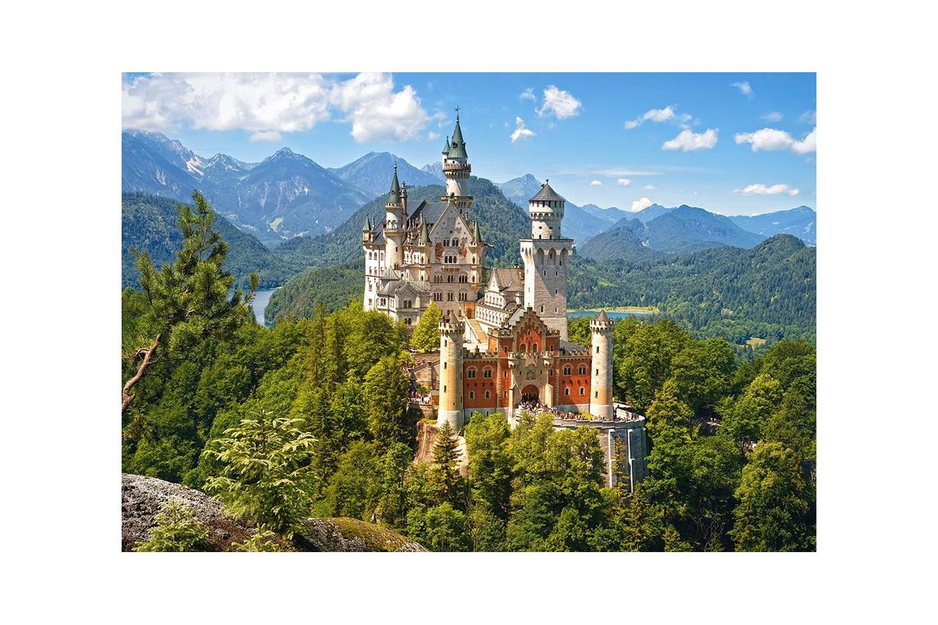 Puzzle Castorland - Neuschwanstein Castle, 1500 piese imagine
