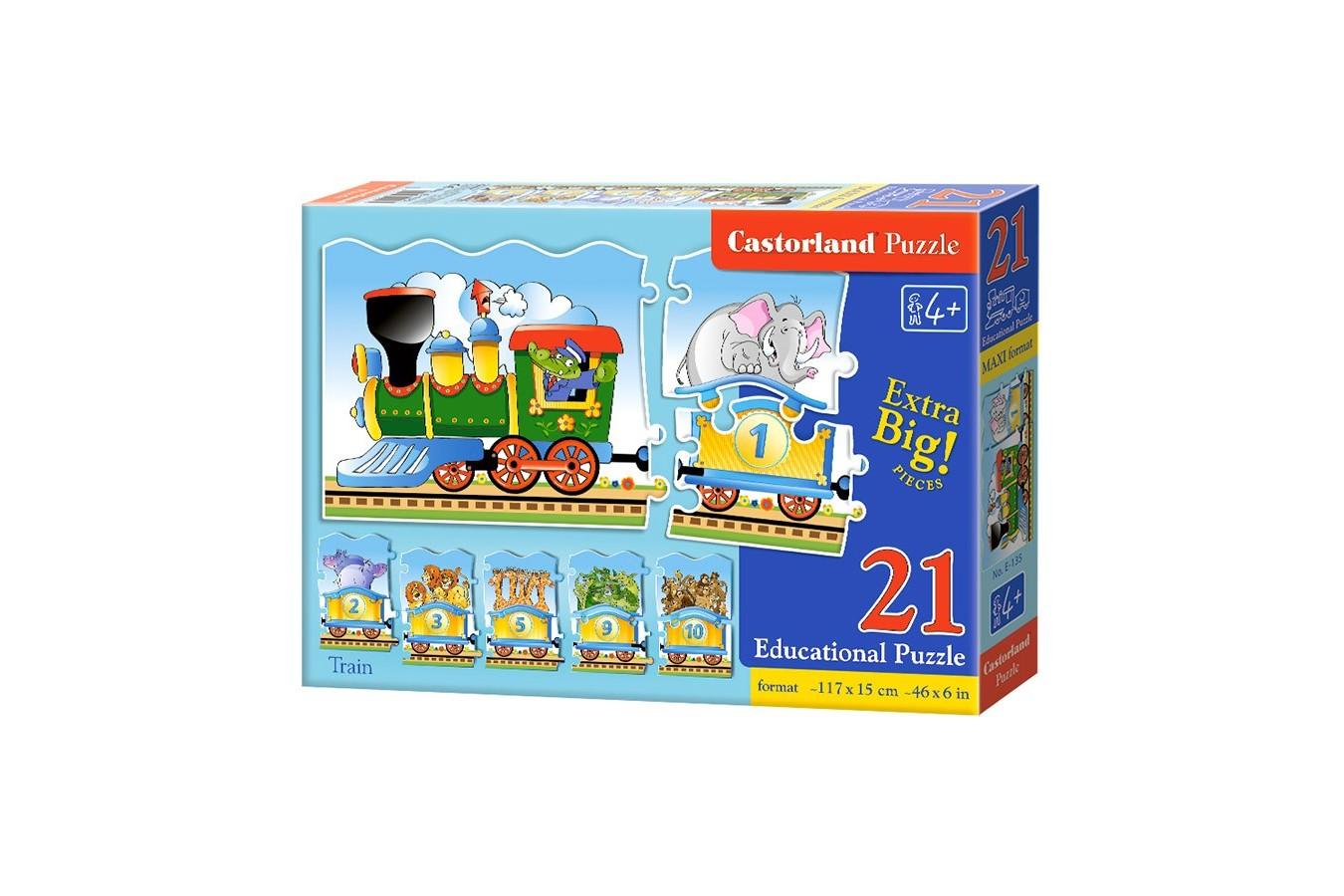 Puzzle Castorland Educativ - Train imagine
