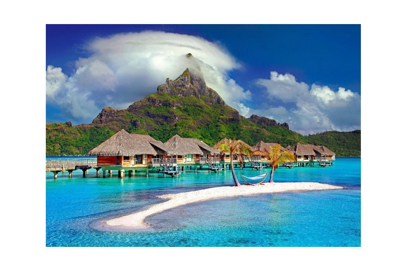 Puzzle Bluebird - Bora Bora, Tahiti, 500 piese (70005) imagine