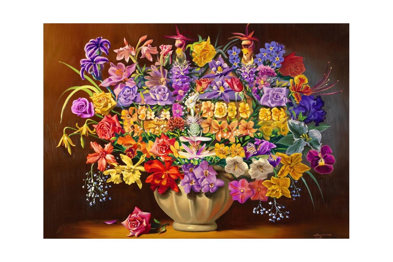 Puzzle Bluebird - House Plants, 1.000 piese (70096) imagine