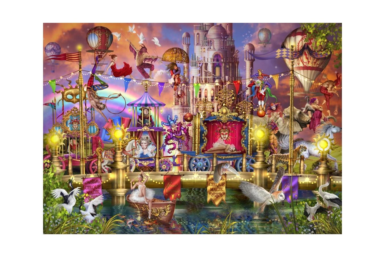 Puzzle Bluebird - Marchetti Ciro: Magic Circus Parade, 1500 piese (70117)