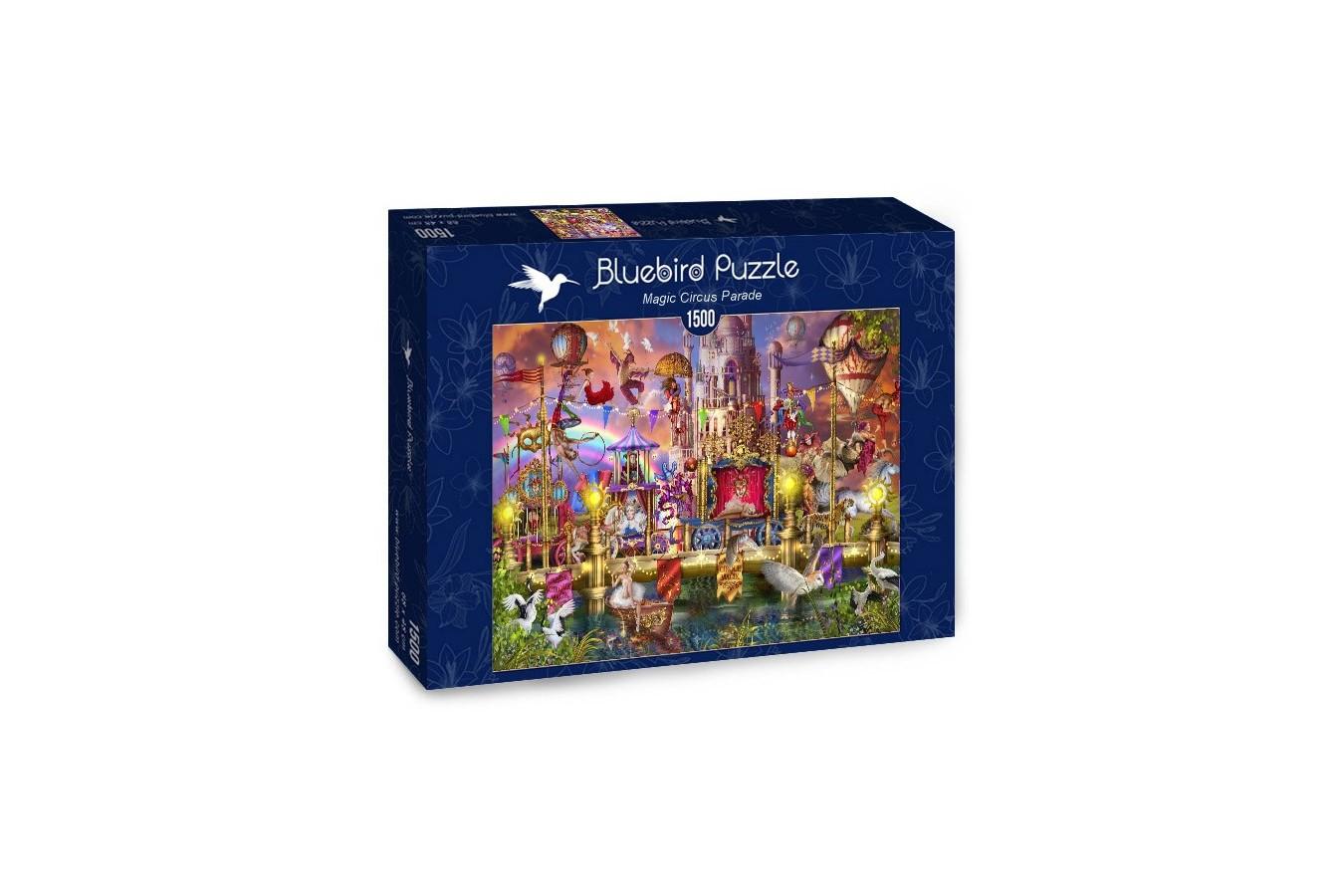 Puzzle Bluebird - Marchetti Ciro: Magic Circus Parade, 1500 piese (70117) - 1