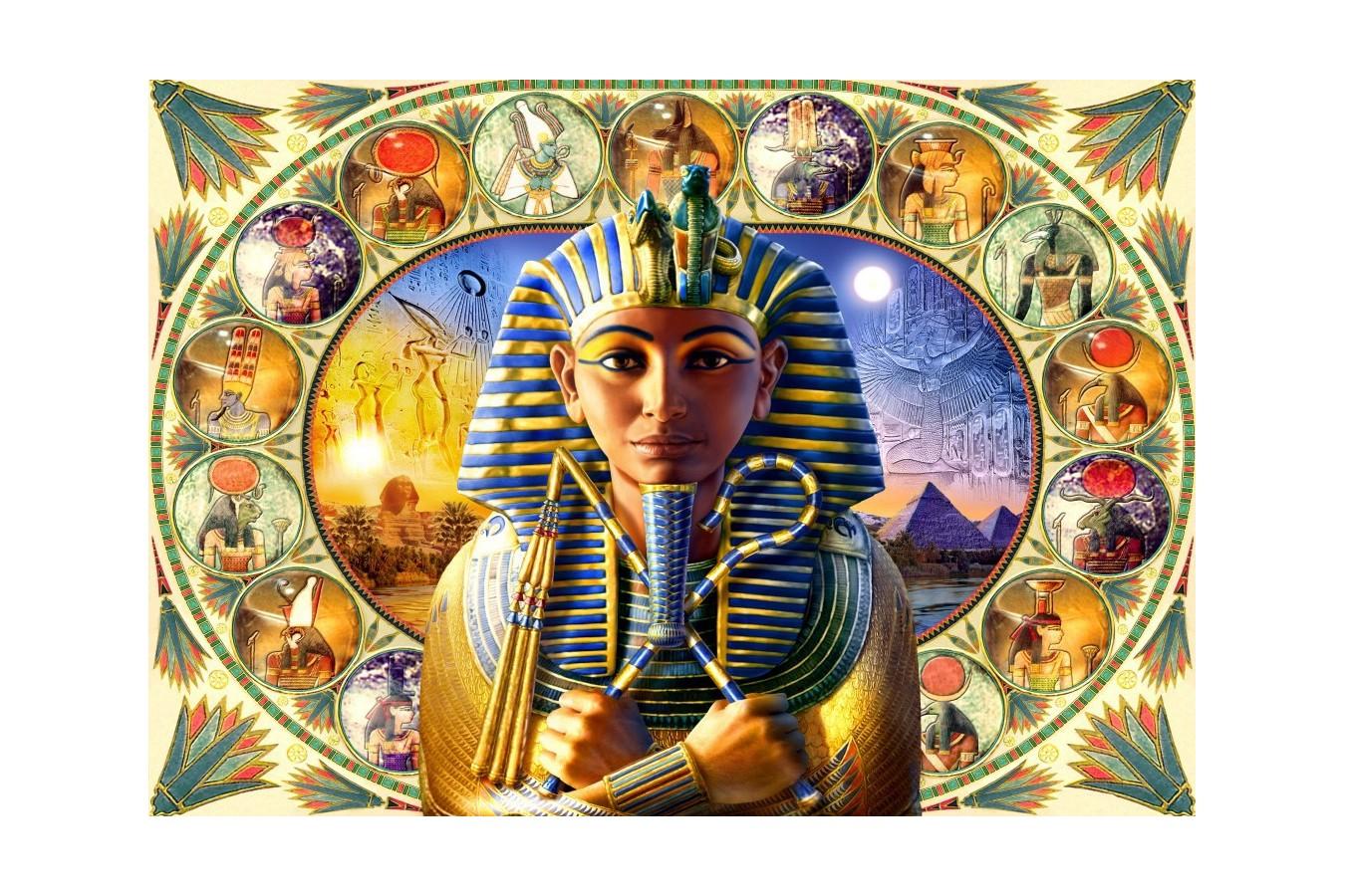 Puzzle Bluebird - Tutankhamun, 1.000 piese (70175) imagine