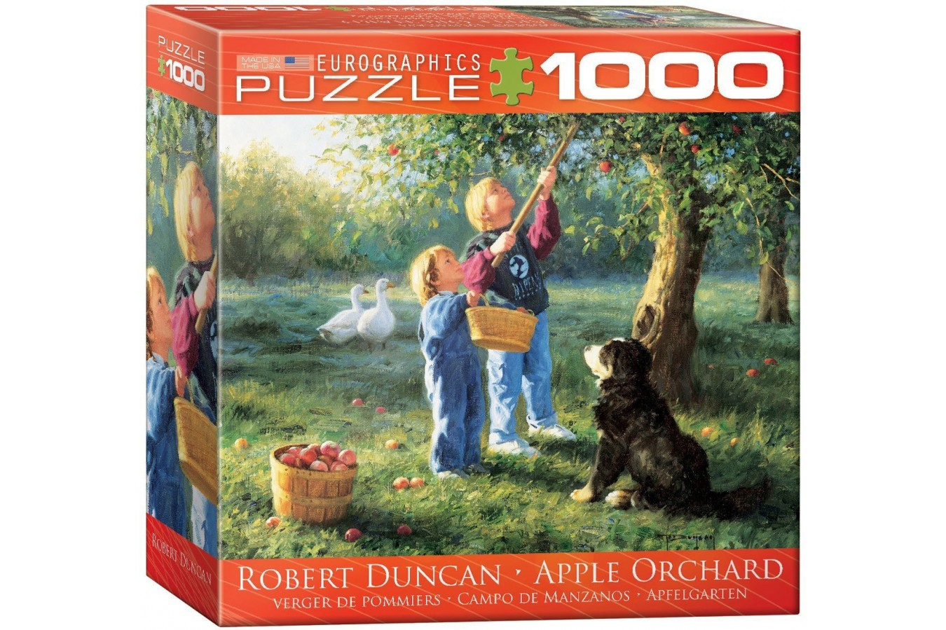 Puzzle Eurographics - Robert Duncan: Apple Orchard, 1.000 piese (8000-0727) imagine
