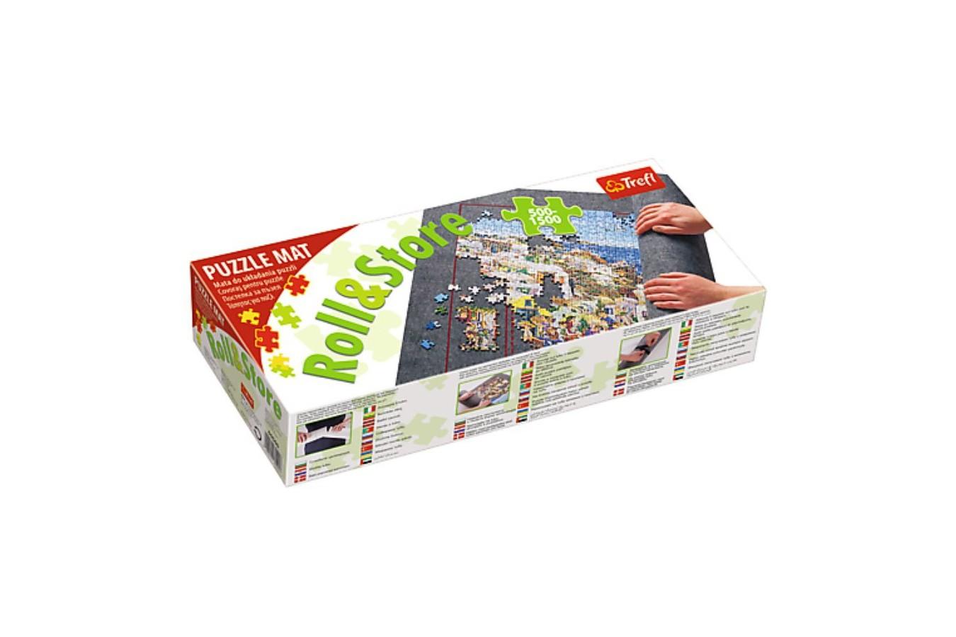 Covor Pentru Rulat Puzzle - Trefl Roll & Store 500 - 1.500 Pieces (60985) imagine