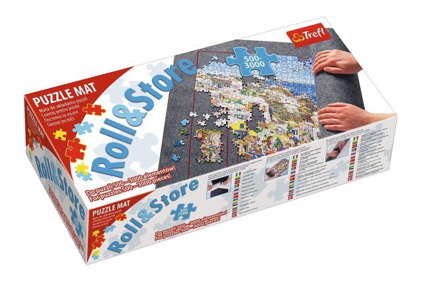 Covor Pentru Rulat Puzzle - Trefl Roll Up Mat 500-3.000 Pieces (60986) imagine