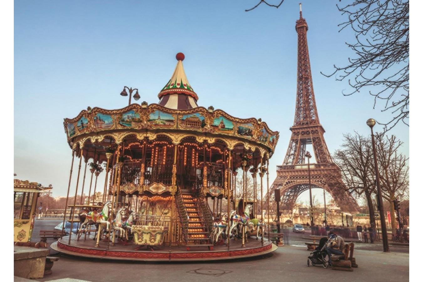 Puzzle Jumbo - Paris, 1.000 piese (18547) imagine
