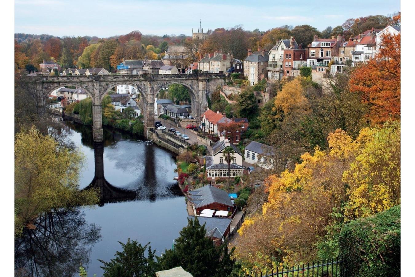 Puzzle Jumbo - River Nidd at Knarlesborough, 1.000 piese (11091) imagine