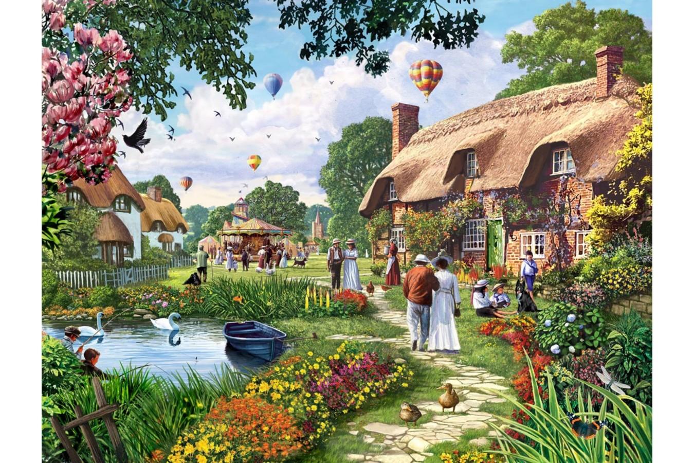 Puzzle Jumbo - Steve Crisp: A Beautiful Sunday Stroll, 1.000 piese (11029) imagine
