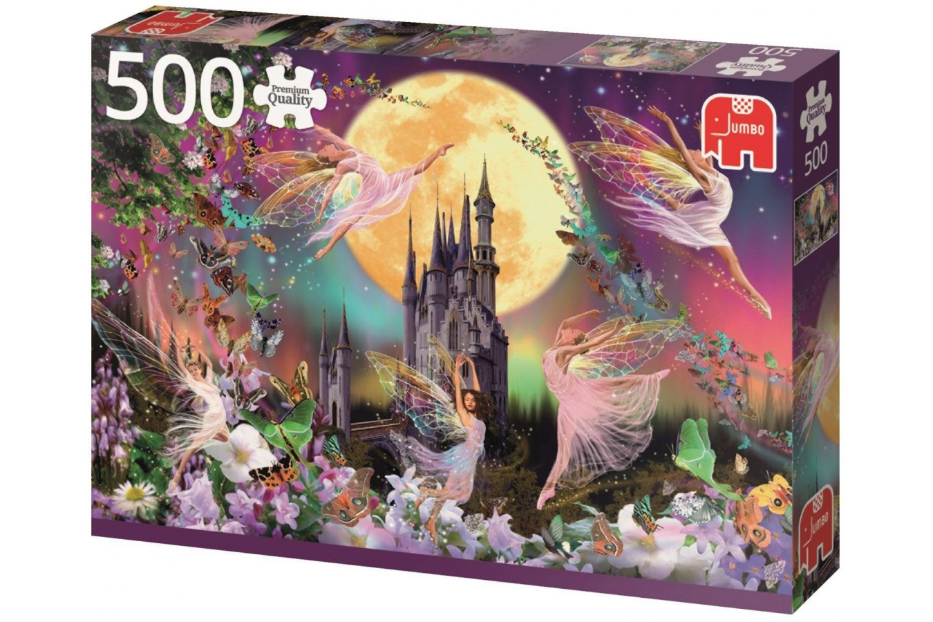 Puzzle Jumbo - The Dance of the Fairies, 500 piese (18358) imagine