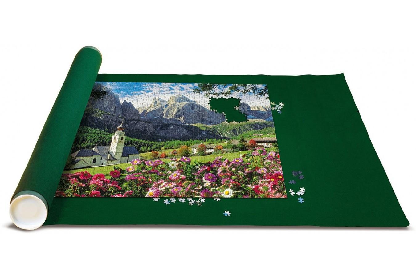 Covor Pentru Puzzle King, 300-1000 Piese + Puzzle The Dolomites, 1000 piese (05016) imagine