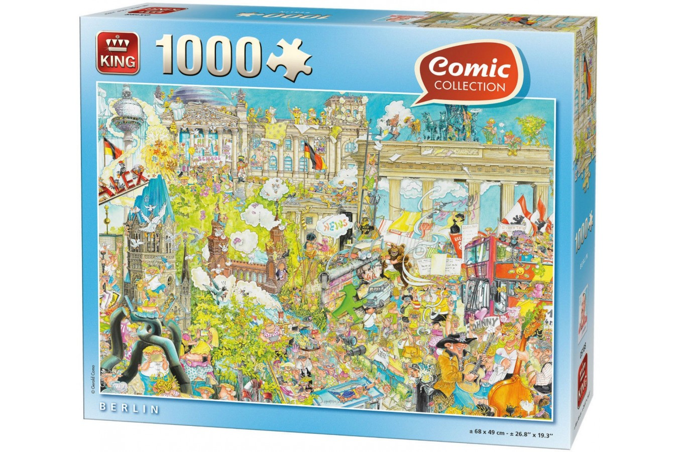 Puzzle King - Berlin, 1.000 piese (05188) imagine