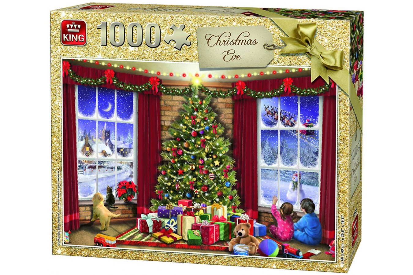 Puzzle King - Christmas Eve, 1.000 piese (05683) imagine