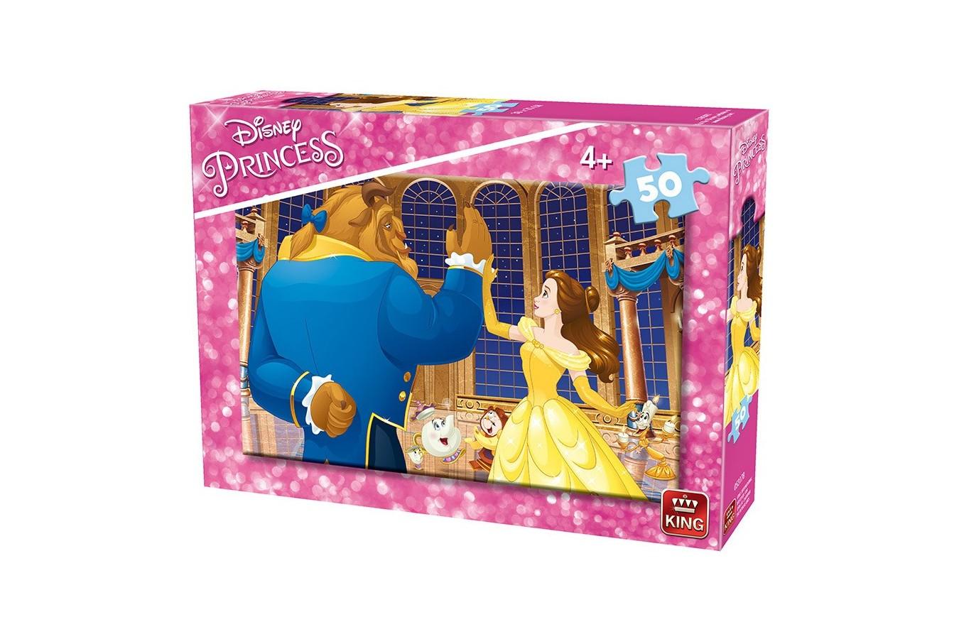 Puzzle King - Disney Princess, 50 piese (king-Puzzle-05317-B) imagine