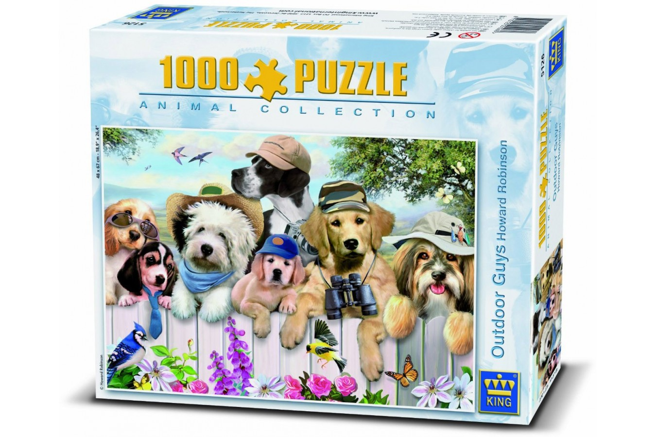 Puzzle King - Outdoor Guys, 1.000 piese (05126) imagine