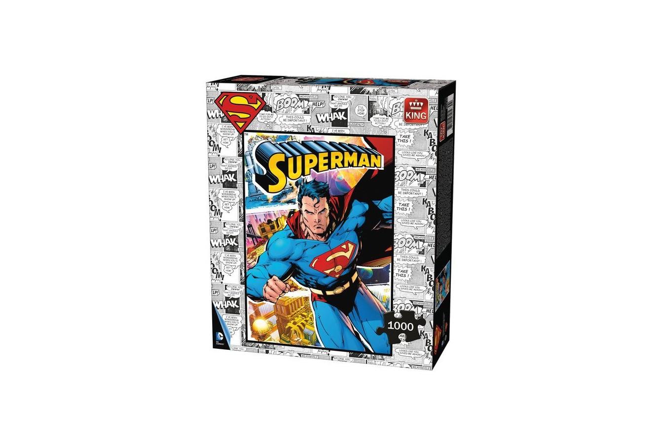 Puzzle King - Superman, 1.000 piese (05630) imagine