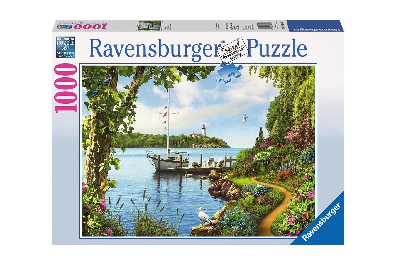 Puzzle Ravensburger - Zilele Barcilor, 1000 piese (19404)
