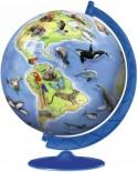 Puzzle glob Ravensburger - Specii De Animale, 180 piese (12332)