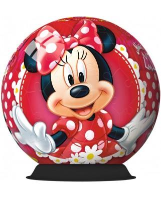 Puzzle glob Ravensburger - Minnie Mouse, 72 piese (12139)