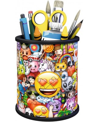 Puzzle 3D Ravensburger - Emoji, 54 piese (11217)
