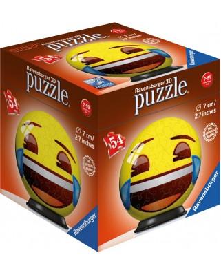 Puzzle 3D Ravensburger - Emoji, 54 piese (72060-01)