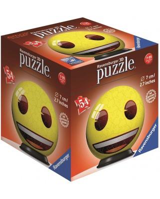 Puzzle 3D Ravensburger - Emoji, 54 piese (72060-03)