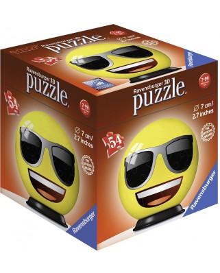 Puzzle 3D Ravensburger - Emoji, 54 piese (72060-04)