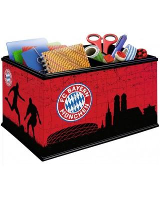 Puzzle 3D Ravensburger - FC Bayern Box, 216 piese (11216)