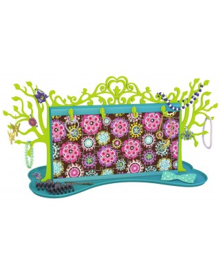 Puzzle 3D Ravensburger - Girly Girls Edition - Jewellery Tree, 108 piese (12081)