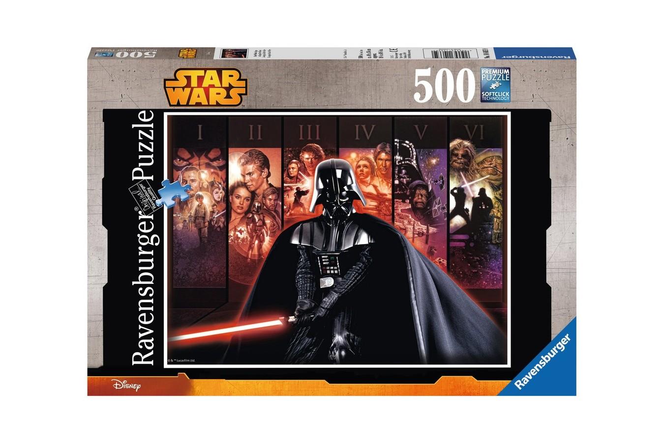 Puzzle Ravensburger - Star Wars, 500 piese (14665)
