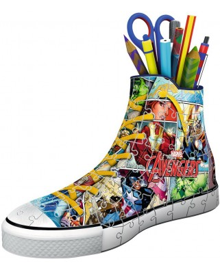 Puzzle 3D Ravensburger - Marvel Sneaker, 108 piese (12113)