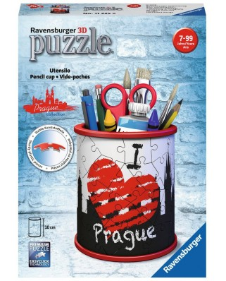 Puzzle 3D Ravensburger - Pencil Cup - Prague, 54 piese (11225)