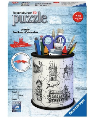 Puzzle 3D Ravensburger - Pencil Cup - Prague, 54 piese (11226)