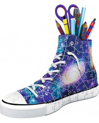 Puzzle 3D Ravensburger - Sneaker - Galaxy Design, 108 piese (11219)
