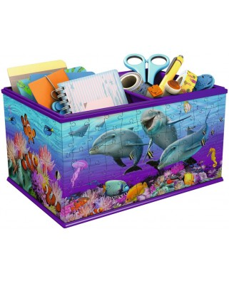 Puzzle 3D Ravensburger - Storage Box - Underwater World, 216 piese (12115)