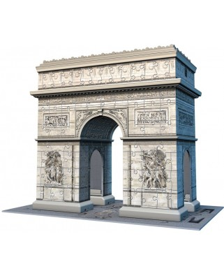 Puzzle 3D Ravensburger - The Arc de Triomphe, Paris, 216 piese (12514)