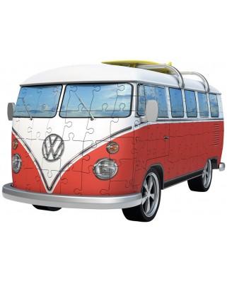Puzzle 3D Ravensburger - Volkswagen T1, 162 piese (12516)