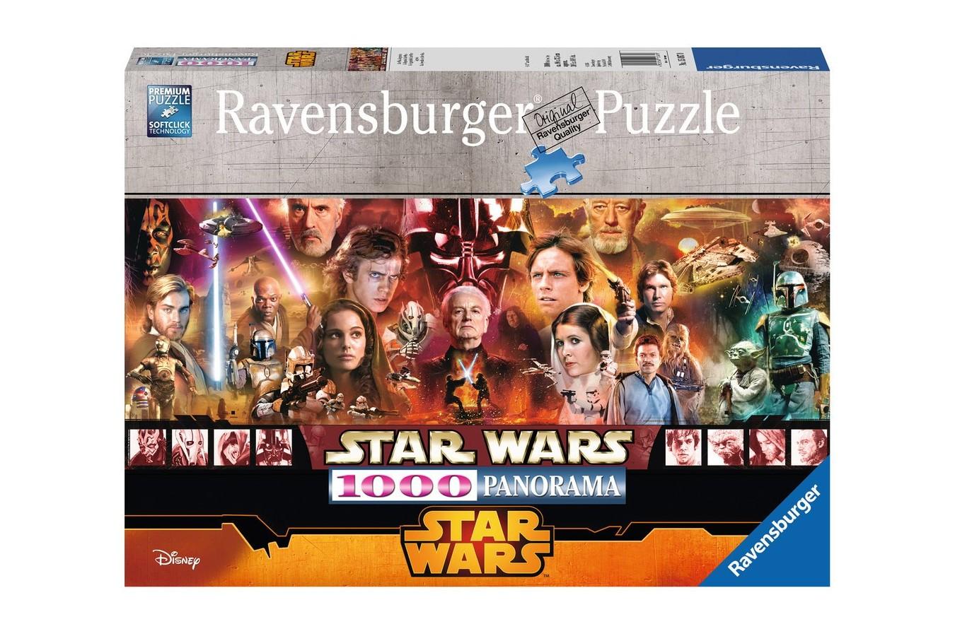 Puzzle panoramic Ravensburger - Star Wars, 1000 piese (15067)