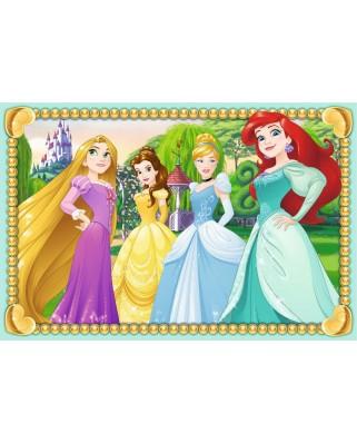 Puzzle cuburi Ravensburger - Puzzle Cubes - Disney Princess, 6 piese (07428)