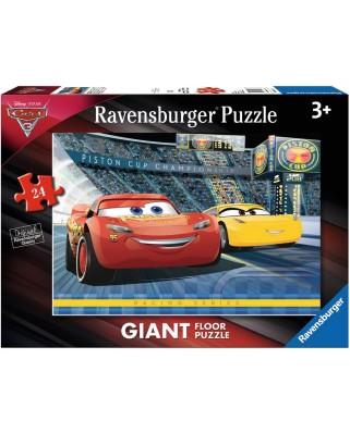 Puzzle de podea Ravensburger - Cars 3, 24 piese XXL (05517)