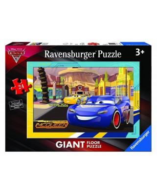 Puzzle de podea Ravensburger - Cars 3, 24 piese XXL (05519)