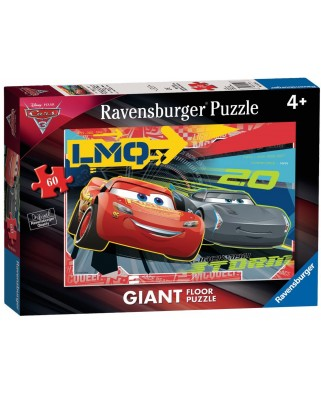 Puzzle de podea Ravensburger - Cars 3, 60 piese XXL (05520)